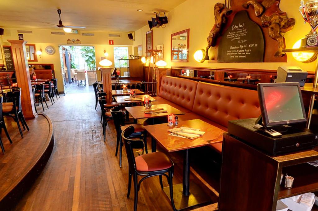 Cafe diner Vlaanderen