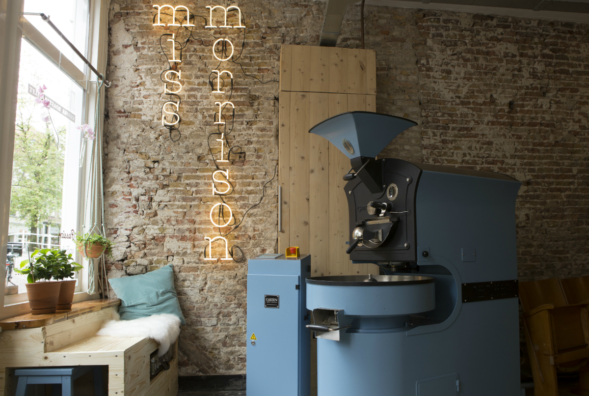 Miss Morrison – koffiebranderij – Delft