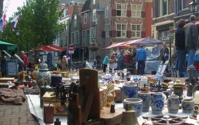 Antiekmarkt Delft 2017