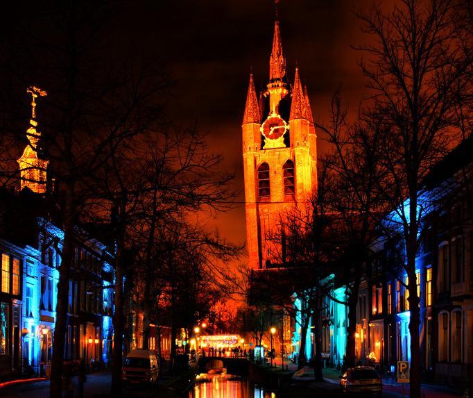 Lichtjesavond & de Donkere Dagen van Delft.